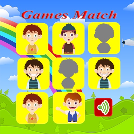 Face match boys and girls game