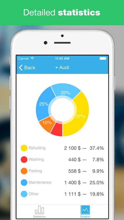 AutoExp: Car Expenses, Statistics, Reminders screenshot-0