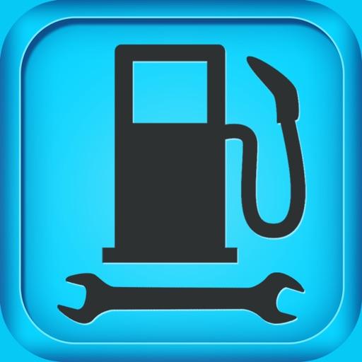 PRO Vehicle - International Fuel App - Gas Mileage MPG Calculator - GPS Car Logbook