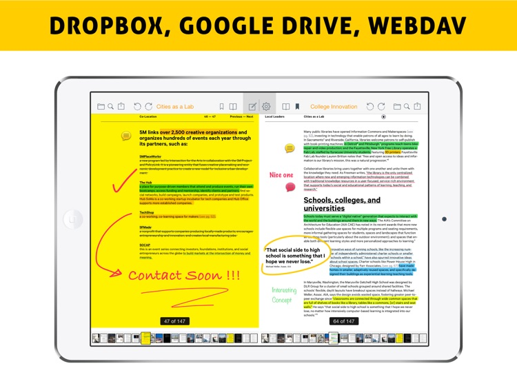 Easy Annotate - Split Screen Dual PDF Editor for Annotating and Linking Two Documents