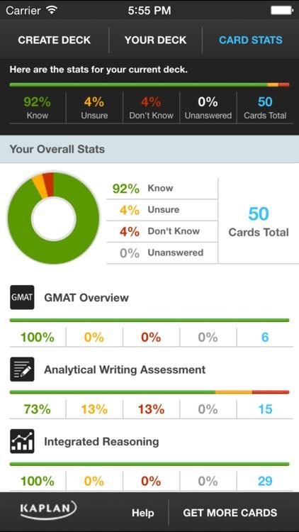 GMAT® Flashcards by Kaplan screenshot-3