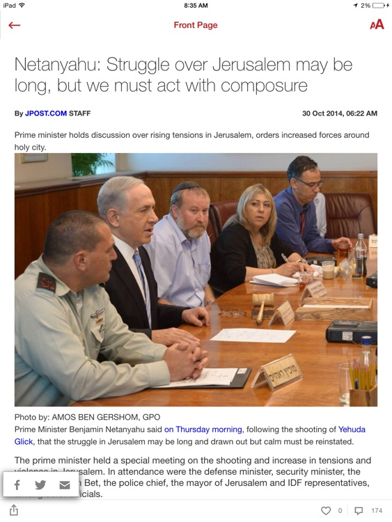 The Jerusalem Post. iPad Edition screenshot-4