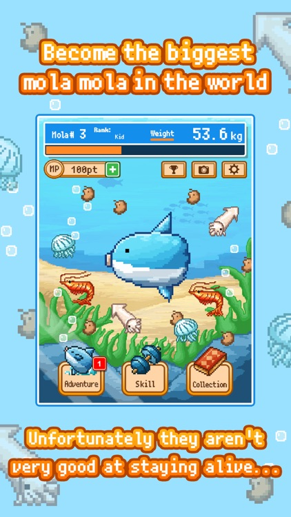 Survive! Mola Mola! screenshot-0