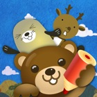 Zoo Friends: Animal Puzzle, Animal Sound, Animal Coloring icon