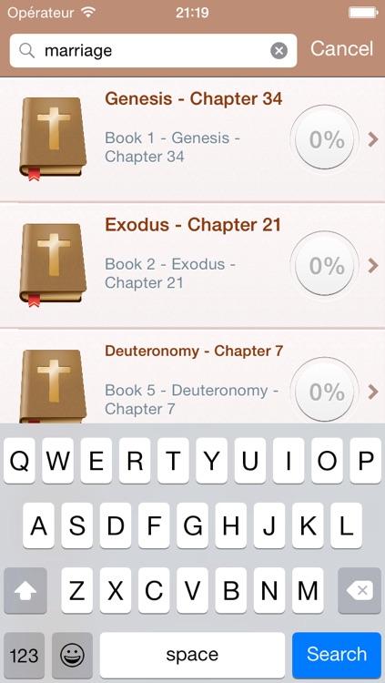 English Holy Bible - King James Version screenshot-3