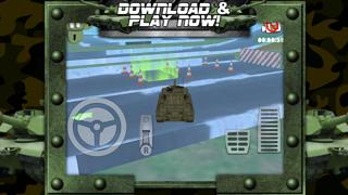 病みつき運転とレーシングチャレンジゲーム無料で3D戦車駐車場ゲームのおすすめ画像5