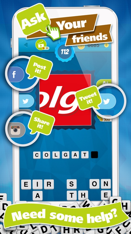 Guess Brand Logos - What's the Logo Name? Trivia Quiz Game screenshot-3