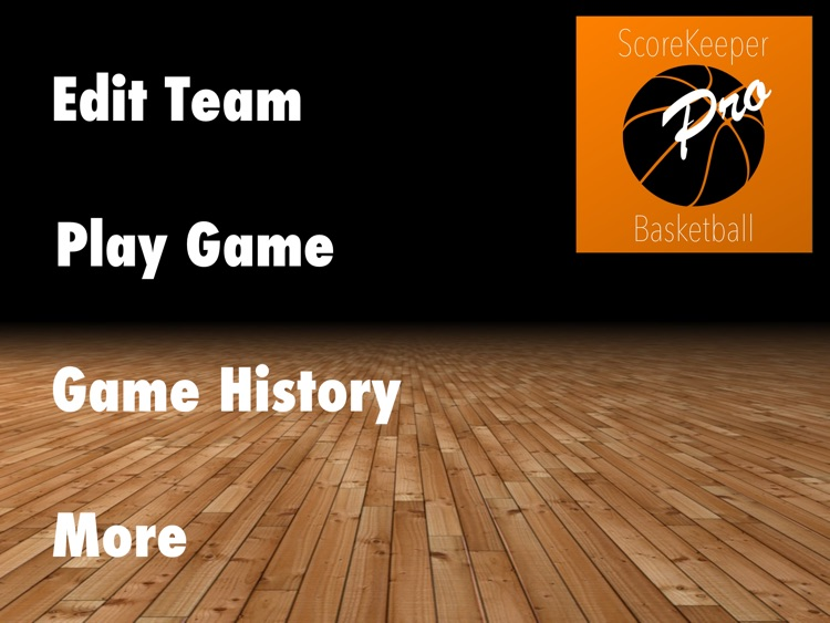 ScoreKeeper Basketball Pro HD screenshot-0
