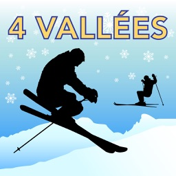 Les Quatre Vallées Ski Map