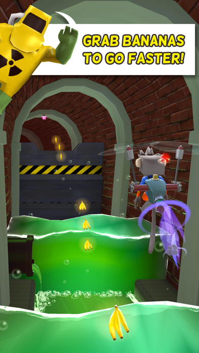 Screenshot from Super Boost Monkey