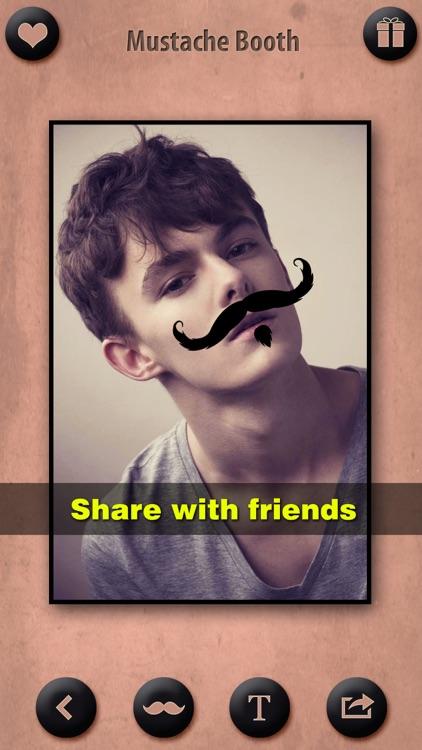 Mustache Booth FREE - Grow & Morph a Hilarious Beard Sticker on Yr Face screenshot-4