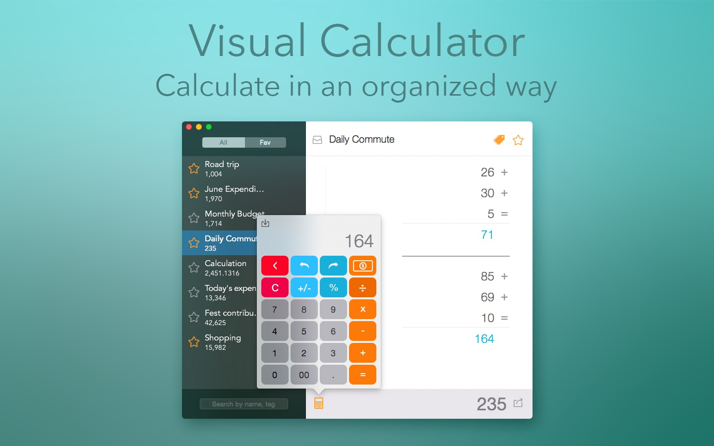 ‎Visual Calculator on the Mac App Store