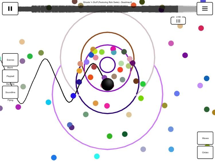 partycircl.es | Music Visualizer screenshot-3