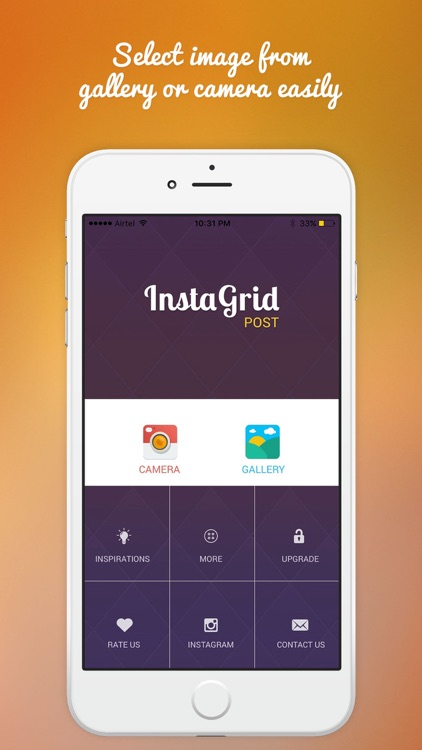 Grid Post for instagram-Photo Editor Booth to Upload Full Banner On Ig screenshot-4