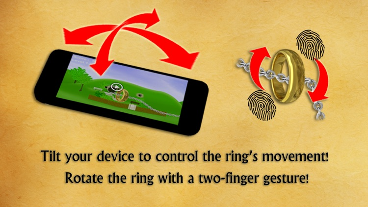 The Journey of the Ring - Lead the ring on a fantasy adventure! screenshot-4