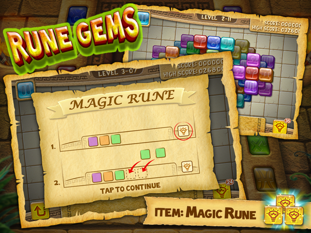 Rune Gems - Deluxe Screenshot