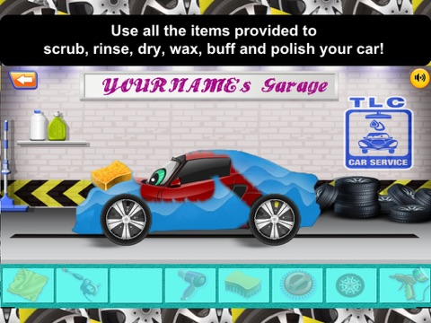 Awesome Lightning Fast Car Wash Salon and Auto Repair Game For Kids-ipad-2