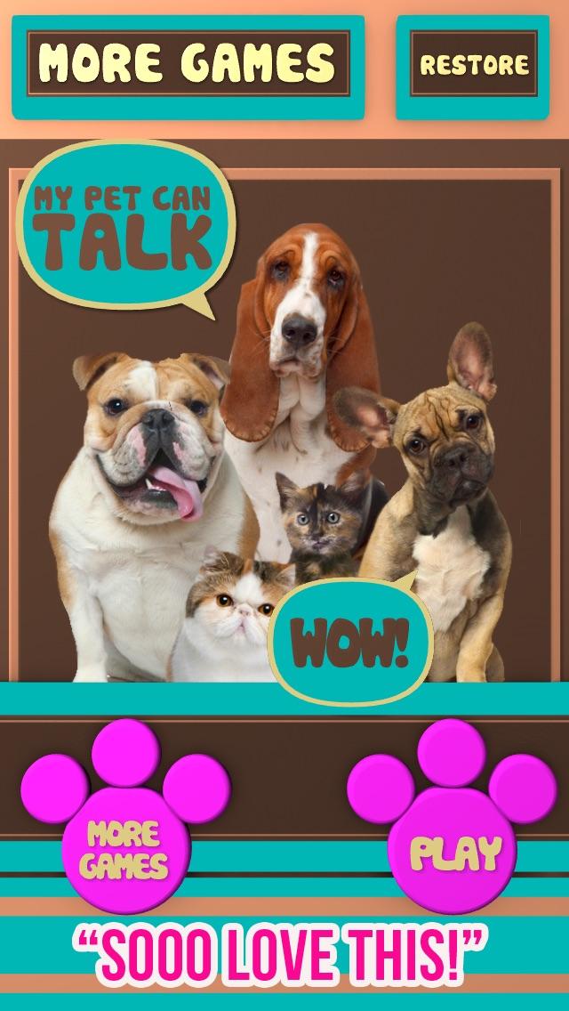 my talking pet videos
