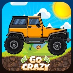 Go Crazy Mountain Cimbers Racing : Jumping Car with racing with police car, truck, jeep and tanker
