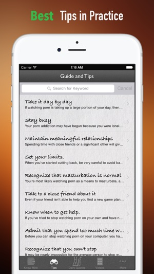 Porn Addiction Recovery Handbook: Solutions Guide with Tutorial Video on  the App Store