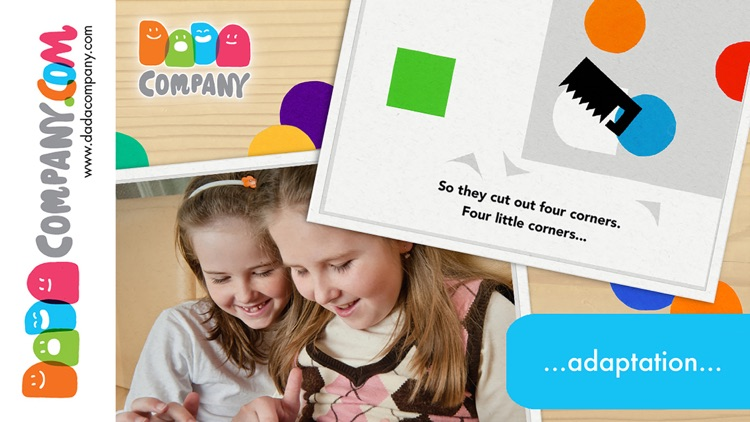 Four little corners - An interactive storybook app about friendship screenshot-3