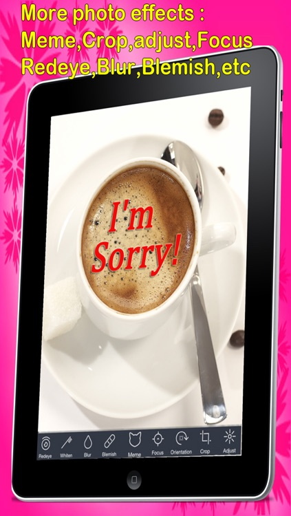 Sorry Cards with photo editor.Send sorry greeting card and custom apology ecards with text and voice messages! screenshot-3