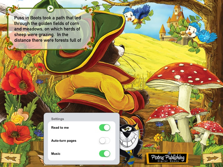 Puss in Boots Interactive French Fairy Tale screenshot-4