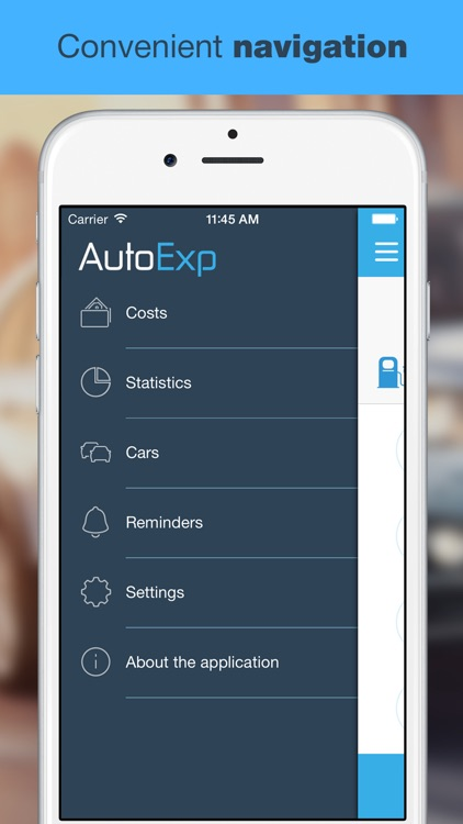 AutoExp Free: My Car Expenses Manager & Reminder screenshot-4