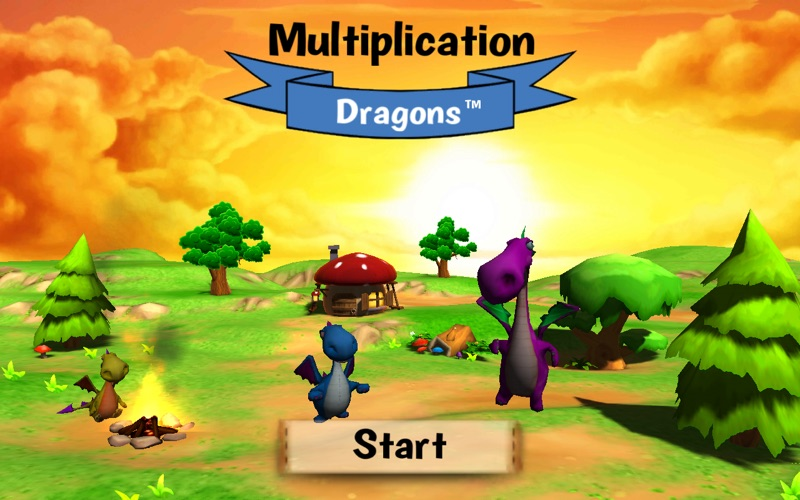 Multiplication Dragons for Mac