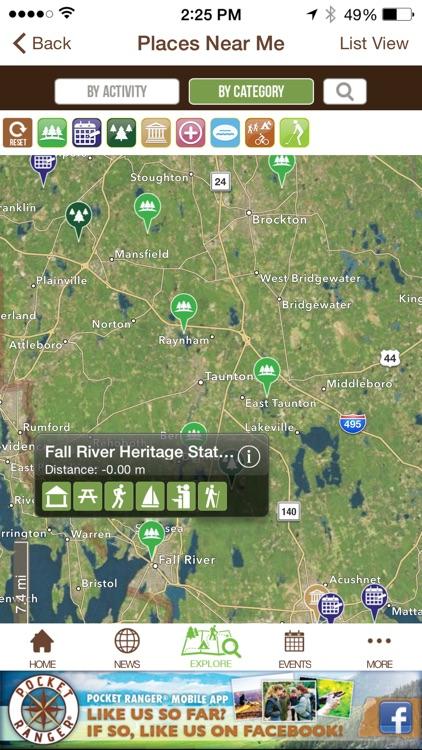 Massachusetts Parks Adventure Guide - Pocket Ranger® screenshot-3