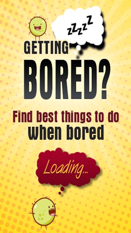 Fun Things to do when Bored