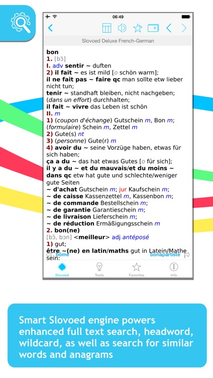 French <-> German Slovoed Deluxe talking dictionary