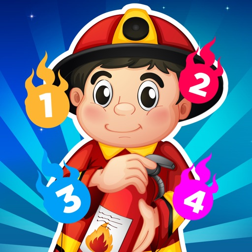 A Firefighter Counting Game for Children: Learning to count with firemen