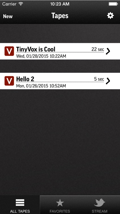 TinyVox Pro • voice memos for the win! screenshot-4