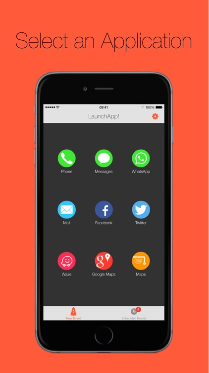 LaunchApp! Time & Location Launcher