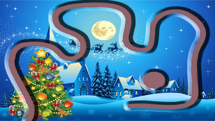 Jelly Rail Blast Shooter Fun Free Game HD - Santa Seasons Version screenshot-4