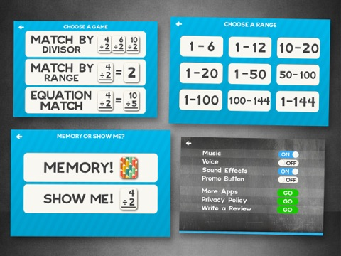 Division Flashcard Match Games For Kids In 2nd 3rd And 4th Grade