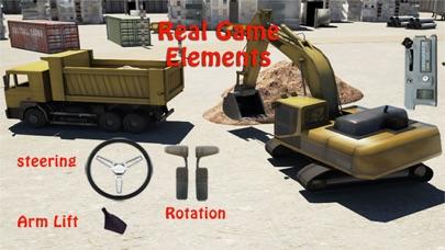 掘削機シミュレータ3D - 建設クレーンに本当の駐車シミュレーションゲームをドライブのおすすめ画像1