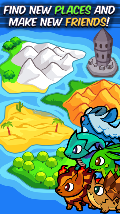 Pico Pets Puzzle - Monster Match-3 Game by Tapps Tecnologia da