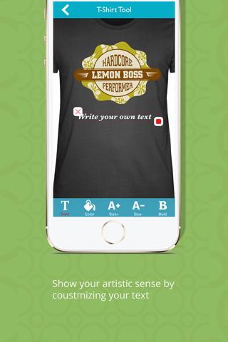 T-Shirt Designer Tool App screenshot 4