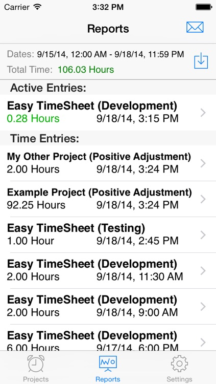 Easy TimeSheet screenshot-4