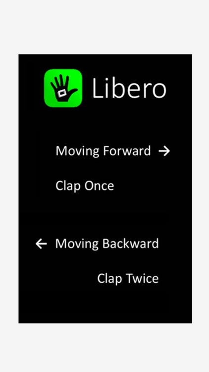 Libero - Remote Control for Presentation Slideshows