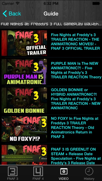 Free Cheats Guide for Five Nights at Freddy's 3 and 4 screenshot-4