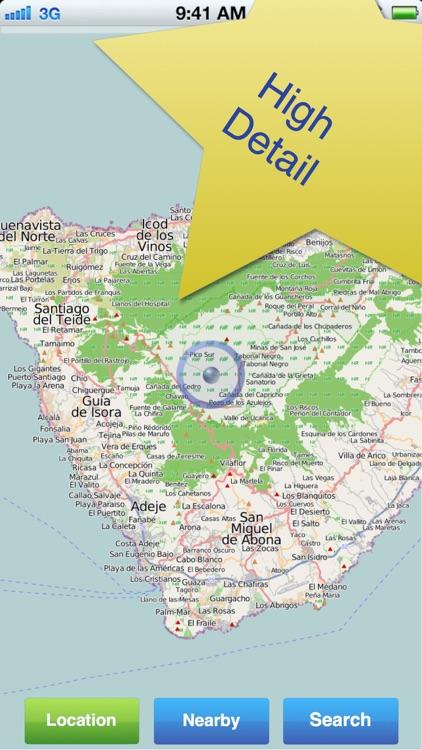 Tenerife No.1 Offline Map