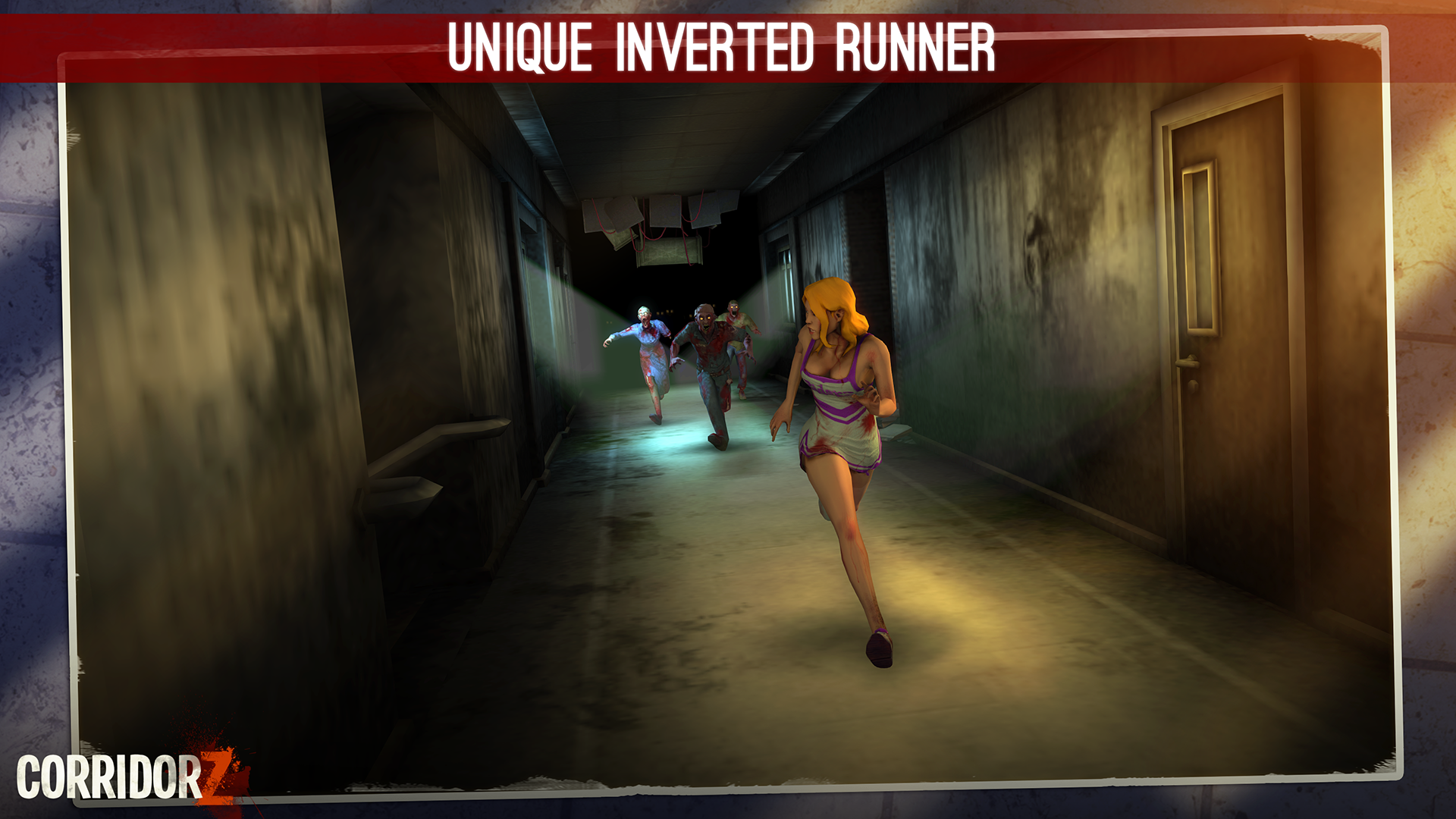 Corridor Z - Inverted Zombie Runner screenshot 15
