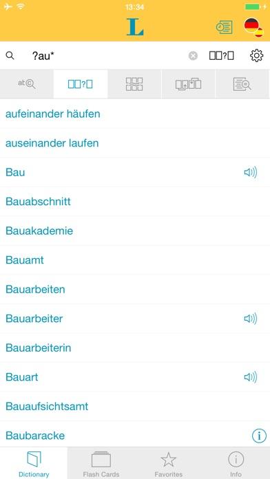 Spanish German Talking Dictionary Professional App Store