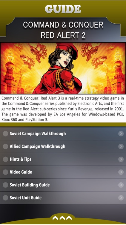 Guide for Command & Conquer Red Alert 2 screenshot-0