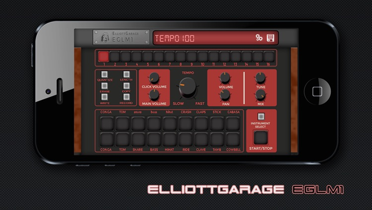 EGLM1 - LM1 Drum Machine