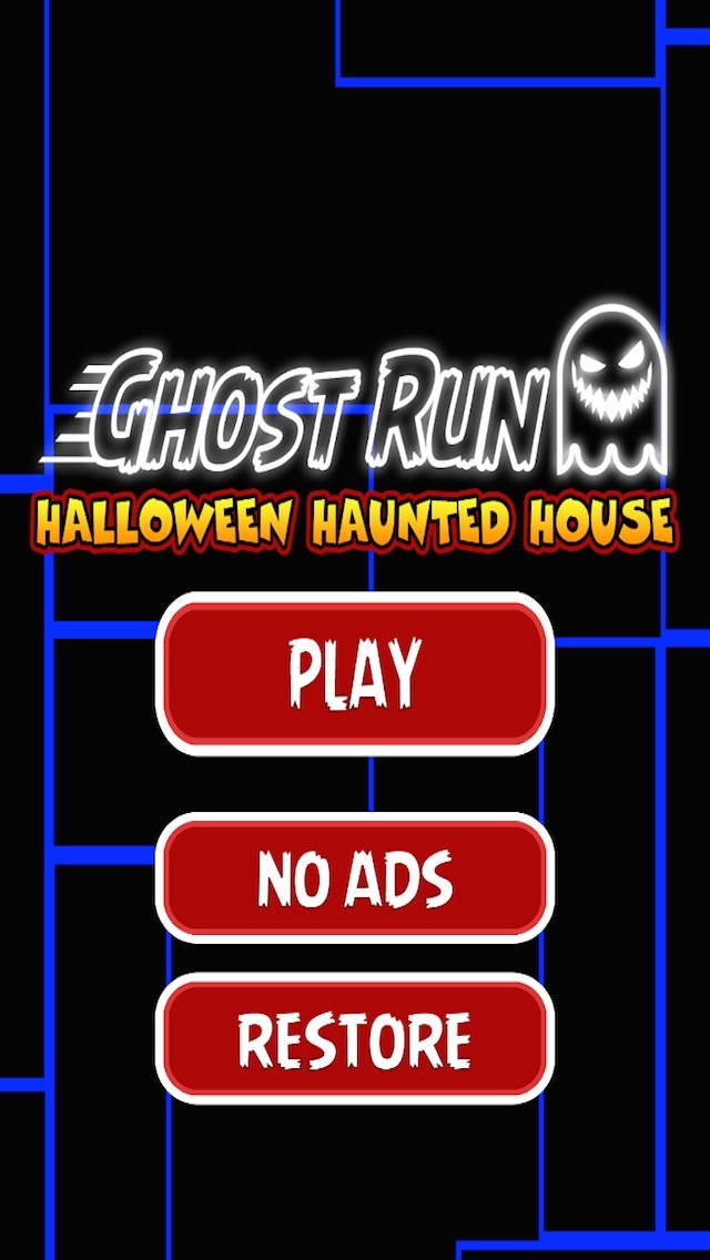 A Ghost Run Halloween Haunted House
