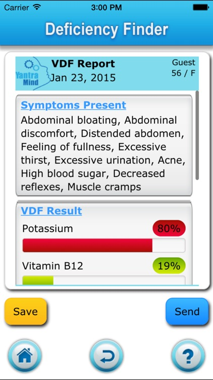 Vitamin Deficiency Finder screenshot-3